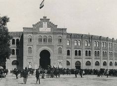 FOTOS ANTIGUAS DE MADRID - PLAZA DE TOROS DE MADRID EN 1892