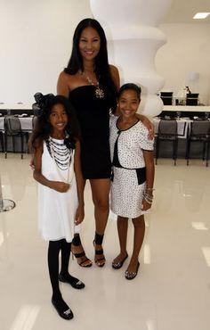 kimora lee simmons and daughters