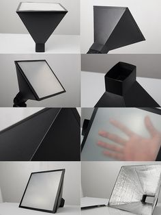 DIY softbox for a flash, but the concept could be enlarged for bigger lights