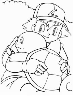 Disegni da colorare per bambini. Colorare e stampa Pokemon 9