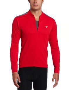 Pearl Izumi Men's Quest Long Sleeve Jersey, True Red, Medium - http://ridingjerseys.com/pearl-izumi-mens-quest-long-sleeve-jersey-true-red-medium/