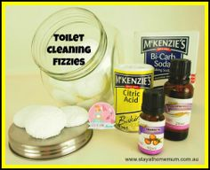Toilet Cleaning Fizzies | Stay at Home Mum
