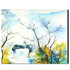 Hand-painted Oil Painting Landscape – USD $ 99.99
