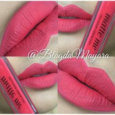 sleek matte me in party pink