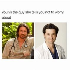 2. When You Would Pick McDreamy Over Riggs Any Day