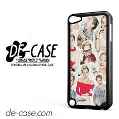 Miley Cyrus College DEAL-7236 Apple Phonecase Cover For Ipod Touch 5