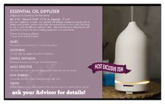 H2O At Home Diffuser. Host a party to get yours free!   http://www.myh2oathome.com/A102001