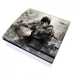 Future Soldier PlayStation 3 Slim Skin