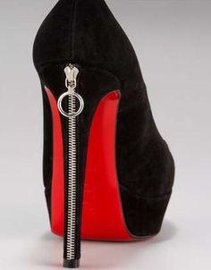 Alexander McQueen zipper pumps