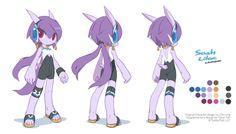 Lilac from Freedom Planet I'm working with Stephen (the dev) to bring some supplementary concept design for Freedom Planet. First set: Lilac! All done for LOVE! YAY// Other girls Carol TeaMilla BassetOriginal character design by Ziyo Ling ziyoling.Concept art and additional design by Tyson Tan (me, twitter).Freedom Planet © GalaxyTrail.