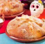 Pan de muerto de natas