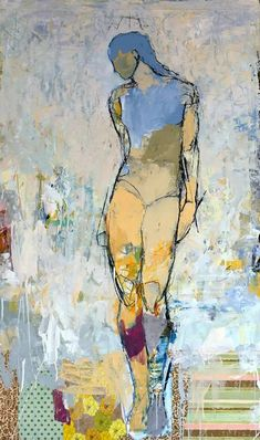 Figure Painting, Figure Drawing, Painting & Drawing, Painting People, Life Drawing, Art Moderne, Contemporary Paintings, Figurative Art, Painting Inspiration