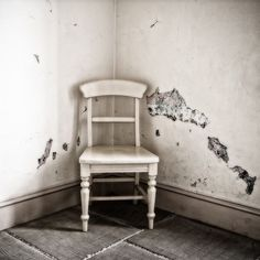 Only ghosts remain ... #chair #lonely #history #workhouse #southwell #nottinghamshire #orton #effect
