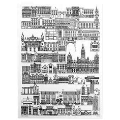 Sahar Ghanbari - Cityscape illustrations