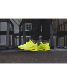 san francisco b4fe1 e7f60 Nike Air Max 90 Ultra Breathe All Yellow Trainer. Nike Air Max 90 Custom Ultra  Moire Rainbow QS ...