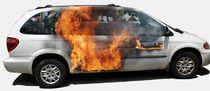 Our van on fire Vehicle Signage, Scrap Car, Custom Paint Jobs, Airbrush Art, Weird Art, Car Painting, Car Wrap, Custom Bikes, Cool Cars
