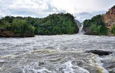 De rivier de Nijl stroomt door het nationaal park Murchison Falls in Oeganda. Foto Rod Waddington/Flickr
