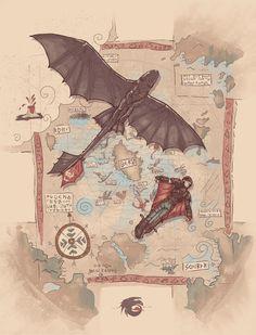 T-shirt How to Train your Dragon by Idriu95