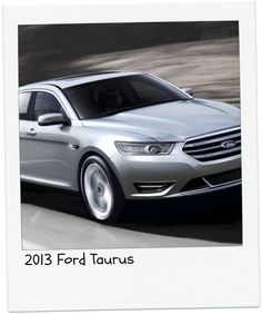 """2013 Ford Taurus   """"Repin"""" if this is your pick! #topcars"""