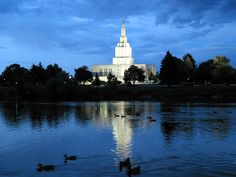 My parents were married here, Idaho Falls.