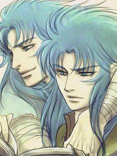 Gemini Saga and Kanon