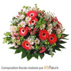 Coussin Intemporel Composition de deuil Belle Plante, Floral Wreath, Wreaths, Flowers, Composition, Decor, Bouquets, Images, Fresh Flowers