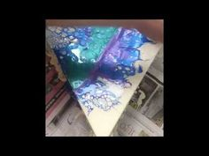 How To Swipe Acrylic Paint Tutorial - How I Mix My Paints - What Tools I Use - Luna Creations - YouTube