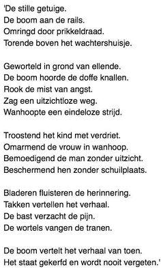 Alleen Een Gedicht Voor Dodenherdenking Spreuken 3