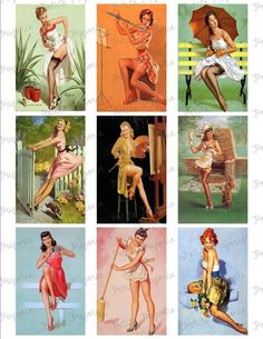 Items similar to Vintage Pinup Girls Stripes Shower Curtain on Etsy Pin Up Vintage, Retro Pin Up, Vintage Art, Fotos Pin Up, Dibujos Pin Up, Belle Nana, Pin Up Girl Tattoo, Pin Up Pictures, Pinup Photoshoot