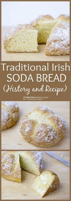 The history and recipe for traditional Irish Soda Bread