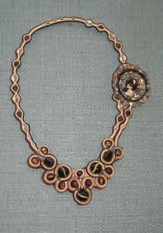 A beautiful necklace from our very own Jane Cruz from BeadandButton!