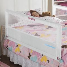 Extra long bed rail to fit a full size bed for mia and nevaeh!