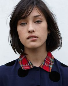 70 Stylish Bob and Lob Haircuts for You to Copy The bob and lob haircut remains a trendy and sought-after choice today and manages to be flattering for a variety of different face shapes. Short Hair Trends, Short Hair Styles, Hair Trends 2015, Lob Haircut, Haircut Medium, Fade Haircut, Corte Y Color, Hairstyles With Bangs, Short Hairstyles