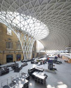 Kings Cross station by John McAslan + Partners, London, UK - visited April 26 - photo Phil Adams