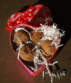 Homemade truffles for #Valentine's Day or any occasion #HudsonValley #take out #to go #catering