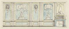 Ontwerp voor een kamerwand, Jurriaan Andriessen, c. 1752 - c. 1819