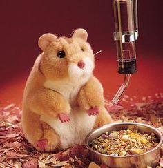 Hamster Hand Puppet  |  Folkmanis