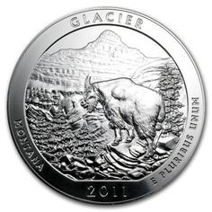 2011 5 oz Silver ATB Coin Glacier, MT - America the Beautiful - SKU #61840. Deal Price: $132.52. List Price: $149.80. Visit http://dealtodeals.com/oz-silver-atb-coin-glacier-mt-america-beautiful-sku/d10994/coins-paper-money/c195/
