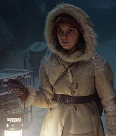 His Dark Materials Brown Lyra Belacqua Coat With Hood Lyra Belacqua, The Golden Compass, His Dark Materials, Child Face, Beige Color, Fancy Dress, The Dreamers, Tv Series, Costume Box