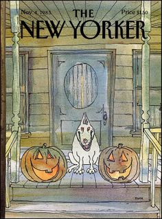 The New Yorker - November-11-04-1985 -George Booth New Yorker Covers autumn