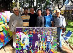 Pop Art Fredo Lima: Artistas da Feira de Artes Plásticas da Praça da R...