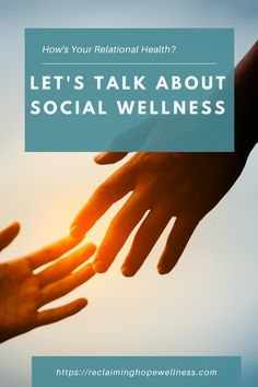 Since Social Wellness is so critical to our overall wellbeing, it's important that we take the time to cultivate strong social ties. Relationships take work, but they're also rewarding. Having a social network we can lean on can help us be successful in our wellness endeavors. #Wellness #SocialWellness