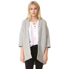 Nili Lotan Naomi Cardigan (35,970 INR) ❤ liked on Polyvore featuring tops, cardigans, cut-out crop tops, white cropped cardigan, crop top, white top and dolman sleeve cardigan