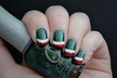 DIY Christmas Nail Art DIY Nails Art