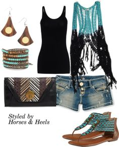 Turquoise: Color of the Month on Horses & Heels