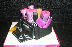 The Hairdressing tool box  Cake by TheCakeArtisan