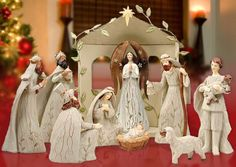 ~ Nativity in White ~