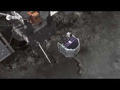 La sonda Rosetta dell'ESA come funzionerà per indagare sulla natura della cometa 67 P.