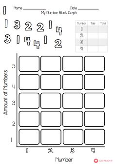8 best maths activities ks1 images on pinterest math activities my number block graph worksheets ccuart Choice Image
