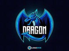 DRAGON MASCOT Logo Dragon, Standard Image, Picture Composition, Esports Logo, Name Logo, Social Media Branding, Overlays, Memes, Logo Ideas